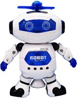 Krypton Naughty Dancing Robot Toy With Space Suit Gift For Kids (Multicolor)