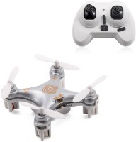 Toys Bhoomi Hot Selling 4CH 2.4GHz RC Quadcopter With Headless Mode - World's Smallest Drone (Silver)