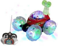 Dinoimpex Dino Angry Bird Rechargeable Remote Controlled Stunt Car With Led Lights (Red)