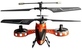 The Flyer's Bay 4 Channel Rc Avatar (Orange)