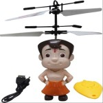 Prro Remote Control Toys Prro Chhota Bheem Helicopter With Infrared Sensor And Remote Control