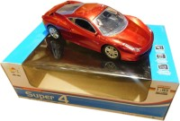 Reckonon Red Super Car With Remote Control (Red)