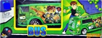 Ruppiee Shoppiee Ben 10 Bus (Green)