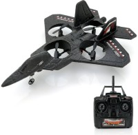 Sunshine Jet Fighter Drone, RC Quadcopter With 2.4GHz Frequency And 100 Meter Range (Black)