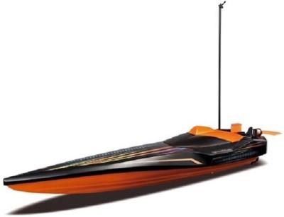 Maisto Remote Control Toys Maisto Radio Control Hydroblaster Speed Boat Orange