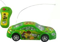 Shop4everything Ben 10 Radio Control Car With Light. (Green)