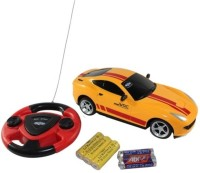 Littlegrin Jackmean Remote Control RC Car With Charger Gift Toy For Kids (Yellow) (Yellow)