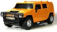 RVOLD Remote Control Hummer Model Car Scale 1:16 With Charger Kit Gift Toy For Kids (Yellow)