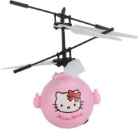 Acus Ir Sensor Hello Kitty Flying Mini Helicopter (Multicolour)