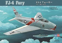 Hobby Boss FJ-4 Fury Jet Fighter Airplane Model Building Kit (Multicolor3)