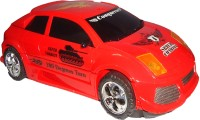 Srper Chariot Distortion Transformation Toy Tank Car With Music & Light (Red)