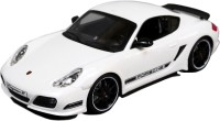 Flipzon R/C Porsche Cayman R 1:16 Rechargeable Toy Car With Radio Controller HQ Model (White) (White)