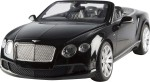 Toyhouse Remote Control Toys Toyhouse Toyhouse Radio Remote Control 1:12 Bentley Continetal GT speed convertible RC Scale Model Car Black