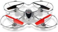 Toys Bhoomi WIFI RC Quadcopter With HD Camera - 2.4G 6 Axis Gyro 3D Roll (Silver)