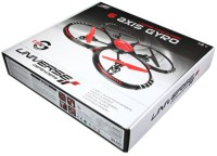 Emob Drone G-Shock Quadcopter Helicopter With Stability Feature (White)