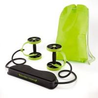 Dizionario Slimflex Xtreme Fitness Revoflex Xtreme Resistance Exerciser Resistance Tube Resistance Tube (Green, Black)