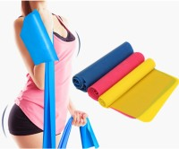 B Fit Usa Strech Band Set Of 3 Resistance Tube (Multicolor)