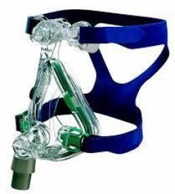 Resmed Mirage Quattro Fx NIV Full Face Mask Respiratory Exerciser