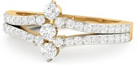 WearYourShine By PCJ The Jensina 18kt Diamond Yellow Gold Ring
