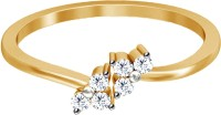 JacknJewel Enchanting Yellow Gold Diamond Yellow Gold Plated 18 K Ring