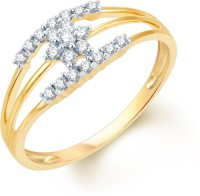 Karatcraft Two Lives Meeting Yellow Gold Diamond 18 K Ring