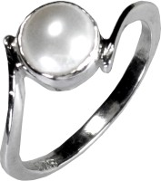 Pearl Paradise Moonlight Silver Pearl Silver Plated Ring