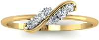 Astrum Diamonds Curvilinear Diamond Gold Diamond 18 K Ring