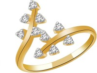 Fullcutdiamond FCDR5599R Yellow Gold Diamond 18K Yellow Gold 18 K Ring