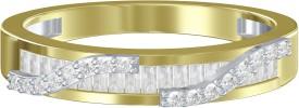 Shish Jewels SR 2104 Silver Cubic Zirconia 999 Silver Ring