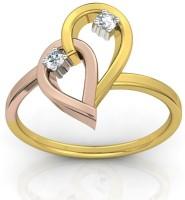 Ag Jewellery Madhuri Sterling Silver Diamond Ring