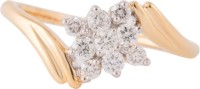 Wite&Gold Murphys Cluster Yellow Gold Diamond 18K Yellow Gold 18 K Ring
