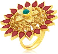 Sukkhi Designer Designer Traditional Cocktail Gold Plated Alloy 18K Yellow Gold Ring