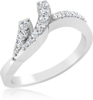 f226136ed 31% OFF on Forevercarat Rocker Style Silver Sterling Silver Plated Ring