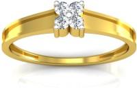 Ag Jewellery Krutika Sterling Silver Diamond Ring