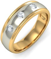 BlueStone The Divine Union For Him 18kt Diamond Yellow Gold Ring