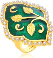 Sukkhi Bewitching Designer Traditional Cocktail Gold Plated Alloy 18K Yellow Gold Ring