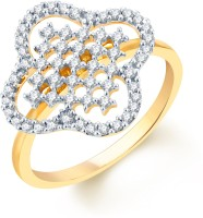 Karatcraft Shape Symphony Yellow Gold Diamond 18 K Ring