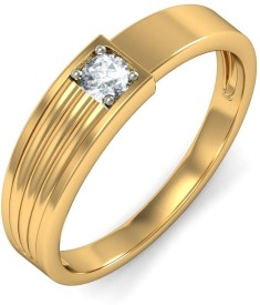 BlueStone The Enigmatic Overture For Her Gold Diamond Ring