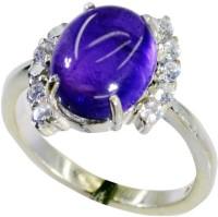 Riyo Gorgeousstar Amethyst Sterling Silver Amethyst Ring