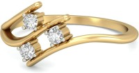 WearYourShine By PCJ The Yamila Diamond Gold Diamond 18K Yellow Gold 18 K Ring