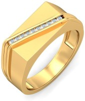 BlueStone The Path To Success Yellow Gold Diamond 18K Yellow Gold Plated 18 K Ring