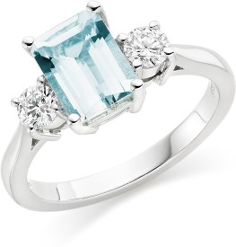 Alluring Silver Swarovski Crystal Ring