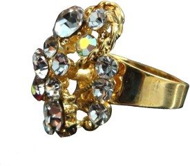 BGS Style Diva Alloy Crystal Ring