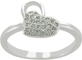 Arsh Crown Sky Dominion Brass Cubic Zirconia Ring