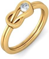 BlueStone The Drihas Yellow Gold Diamond 14 K Ring