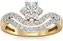 WearYourShine By PCJ The Anne Marie Diamond Gold Diamond Ring