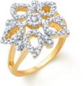 Sukkhi Glistening Alloy Cubic Zirconia Ring
