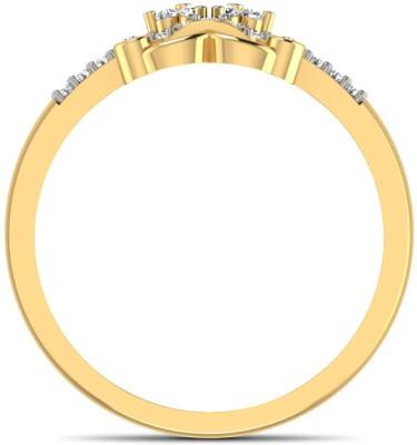 CaratLane Triumph X Gold Diamond Ring