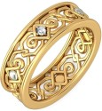 BlueStone The Kyna For Her Gold Diamond Ring