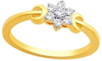 Nakshatra Gold Diamond Yellow Gold Plated 10 K Ring